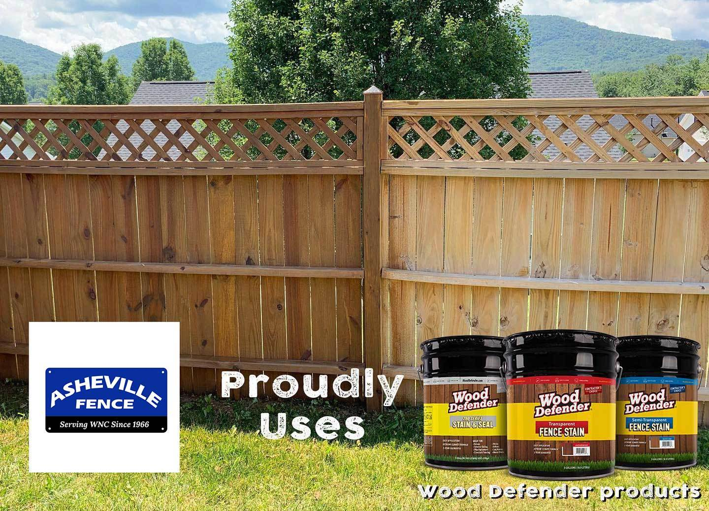 wood defender fence stain